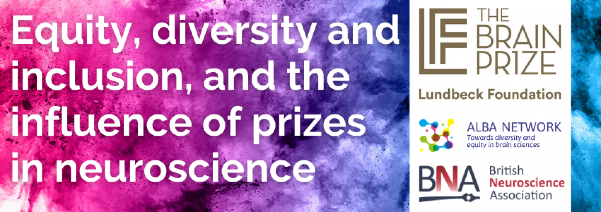 equity, diversity and inclusion, and the influence of prizes in neuroscience